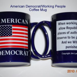 American Democrat Coffee Mug